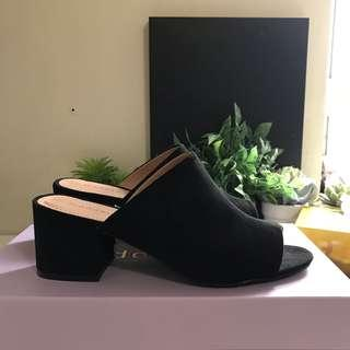 STEVE MADDEN Lorna mule block heels