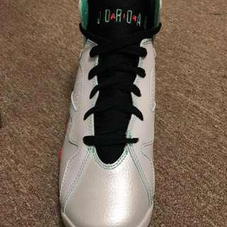 Air Jordan 7 limited editions retro 30th GG, size 7y, 9/10 condition, worn once, price negotiable, comes with box and receipt