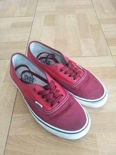 Vans Authentic Red Canvas