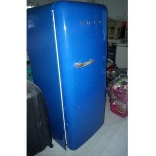 (Reduces Price) Blue SMEG Fridge