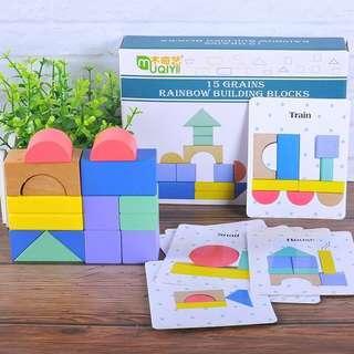 Building pattern blocks - 350 pesos