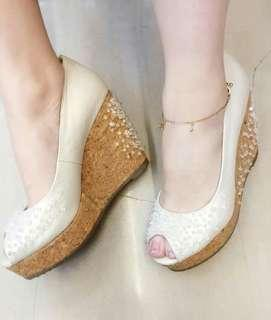 4 inches ladies wedge