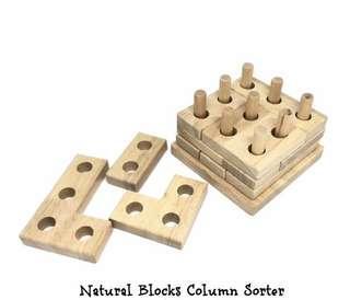 Natural Blocks Column Sorter - 400 pesos