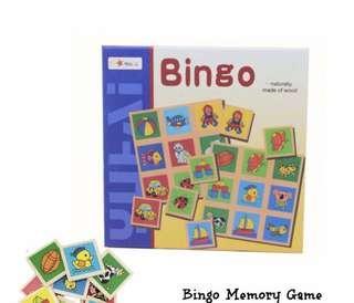 Bingo Memory Game - 250 pesos
