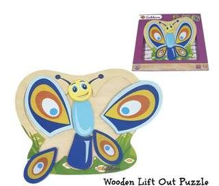 Wooden Lift out puzzles - 300 pesos