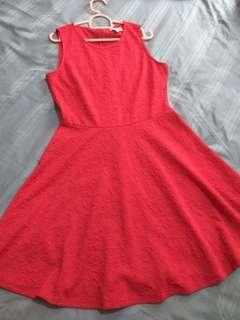 Padini Authentics Red Dress