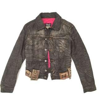 Dolce gabbana denim jacket authentic