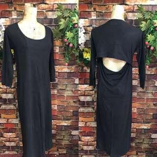 Korean dress size m-large stretch