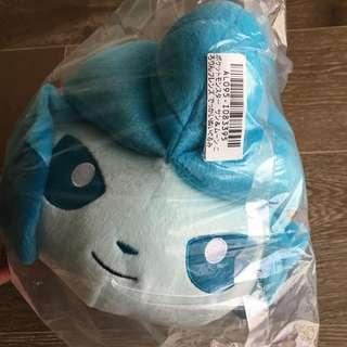 Authentic Japanese Glaceon (Eevee evolution) Plush