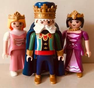 Playmobil Emperor and his Consorts