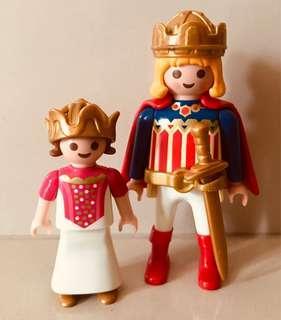Playmobil Prince and little sister