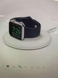 Apple Watch magnetic charging dock.