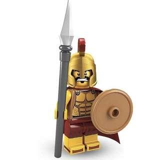 Lego Spartan Minifigure from series 2