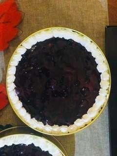 Blueberry Cheesecake (Baked)