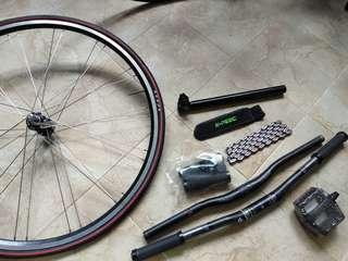 Bicycle Parts For Sale (Mainly Fixie)