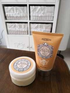 In Retro Spa Body Butter dan Hand Cream