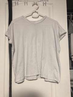 Aritzia Wilfred white tshirt