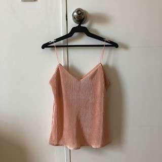 Electric Pleat Cami
