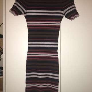 Body Con Knit Dress small