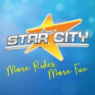 Star City Ride all you can + Cinderella show