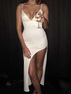 White Babyboo formal dress 8