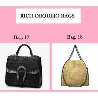 Rich Orquejo Bags