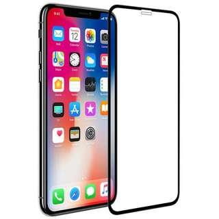 🚚 IPhone XS Max Full Coverage Tempered Glass