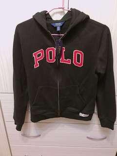 🚚 全新/Polo Ralph Lauren [黑色]大馬青年版polo字體棒球縫線外套