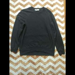 Sweater Giordano Black / Hitam Original