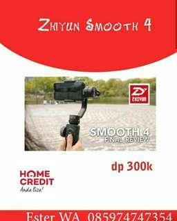 Zhiyun Smooth 4 Credit Cepat 3menit