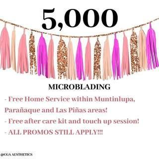 MICROBLADING HOME SERVICE