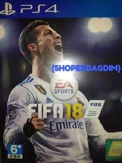 FIFA18 bluray ps4