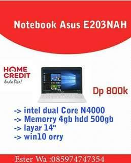 Notebook Asus Credit Cepat 3menit