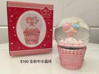 Little Twin Stars 絶版全新水晶球(中)