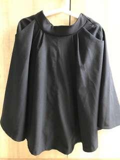 🚚 Pazzo毛呢法式大圓裙,有口袋 背鬆緊腰頭 有內襯