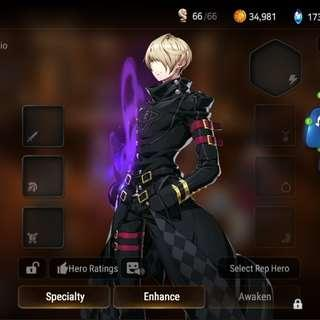 Sez And Vildred (Epic Seven Account)