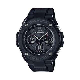 Stealth Black Casio Gsteel GSTS100 Tough Solar Steel Series 100% Authentic BRAND NEW WITH FREE DELIVERY 📦 Personally