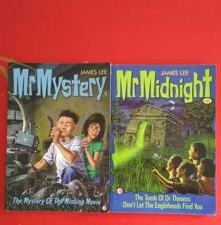 🚚 [WTS/WTT]  Mr Midnight Book #2 n #62. Selling but Open For Trading. Both Books for Pokemon Soulsilver & Heartgold.  See All Pics