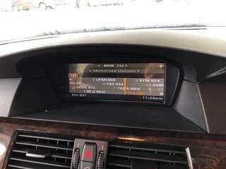 BMW 525 Android touch screen