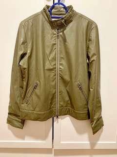 Army Green PVC Jacket