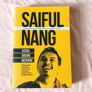 Kisah Orang Menang karya Saiful Nang (NP:RM 30)