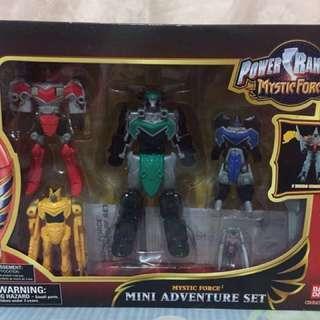 Power Ranger Mystic Force Mini Adventure Set