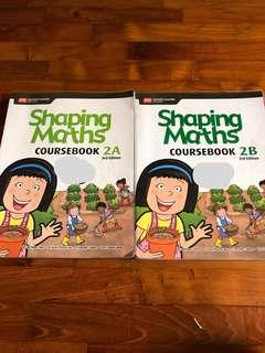 Shaping maths primary 2 (gd condition)