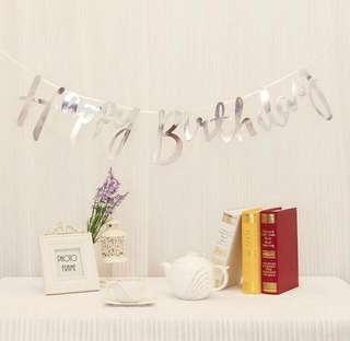 🚚 Happy Birthday Banner