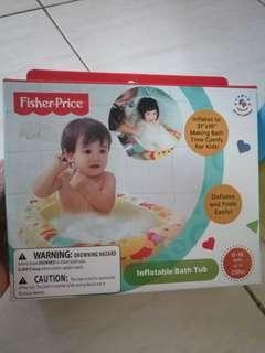 Fisher price inflatable bath tub #momjualan #jualanibu
