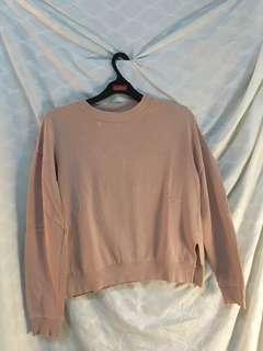 H&M Pink Sweatshirt