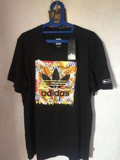 Adidas oroginals x Beavis and Butt head pizza tee