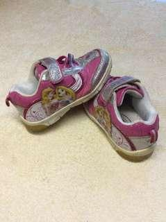 Disney Princess pink Velcro strap baby / toddler / kids girl / gals sneakers sports track shoes size 27 19.5cm