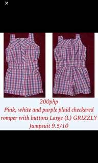 REPRICED 150PHP GRIZZLY pink, purple and white plain jump shorts for baby  girls