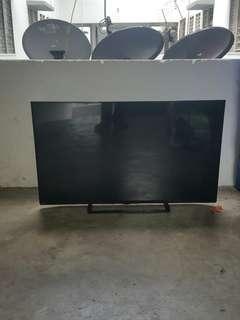 Faulty Tv LED TOSHIBA 55 inci for sparepart